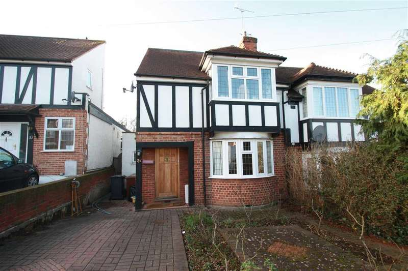 4 Bedrooms Semi Detached House for sale in Ashfield Avenue, Bushey