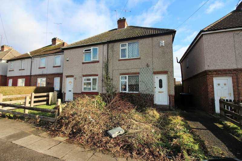 2 Bedrooms Semi Detached House for sale in Queen Margarets Road, Coventry, CV4