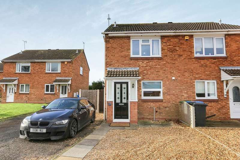 2 Bedrooms Semi Detached House for sale in Melrose Drive, Wolverhampton, WV6
