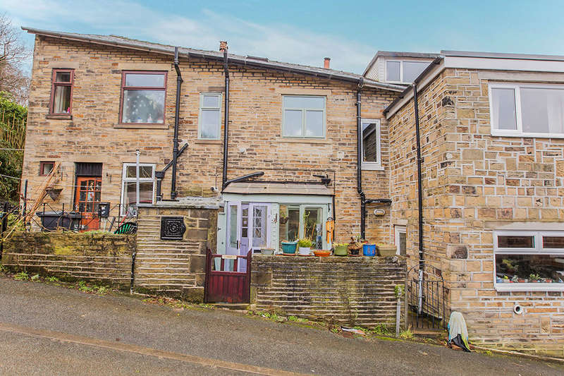 2 Bedrooms Terraced House for sale in Cleveley Gardens, Hebden Bridge, HX7