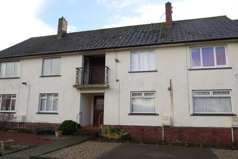 2 Bedrooms Ground Flat for sale in Annpit Road, Ayr, KA8
