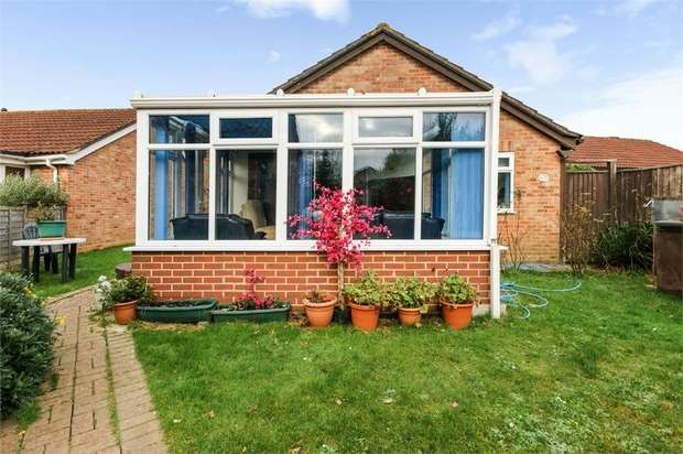3 Bedrooms Detached Bungalow for sale in Akeshill Close, New Milton, Hampshire