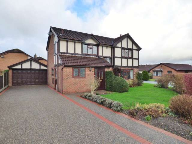 4 Bedrooms Detached House for sale in Garwood Close, Westbrook, Warrington