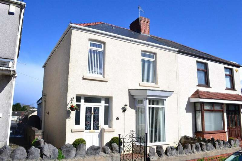 3 Bedrooms Semi Detached House for sale in Zouch Street, Manselton, Swansea