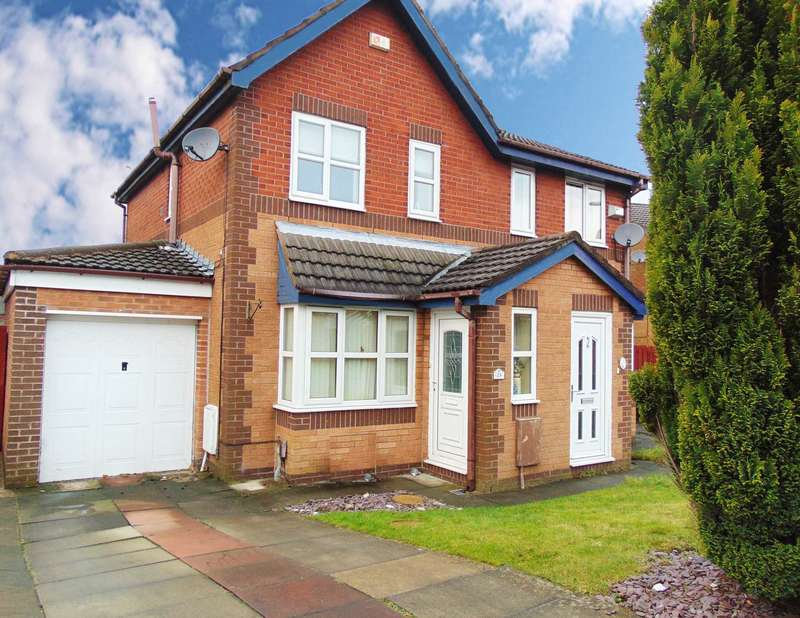 2 Bedrooms Semi Detached House for sale in Putney Close, Oldham