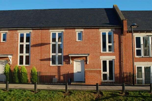 3 Bedrooms Terraced House for sale in Knot Tiers Drive, Upton, Northampton NN5 4DA
