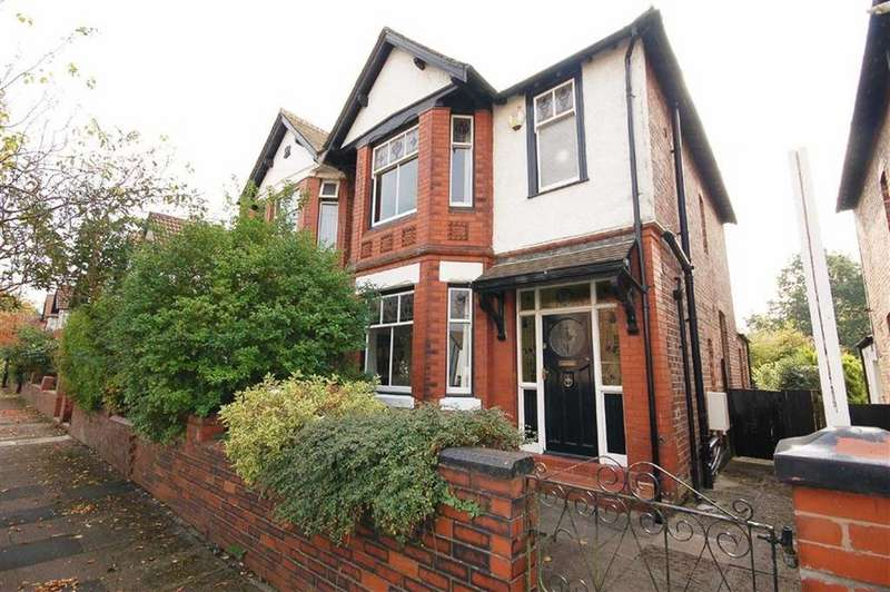 3 Bedrooms Semi Detached House for sale in Scarisbrick Road, Levenshulme, Manchester, M19