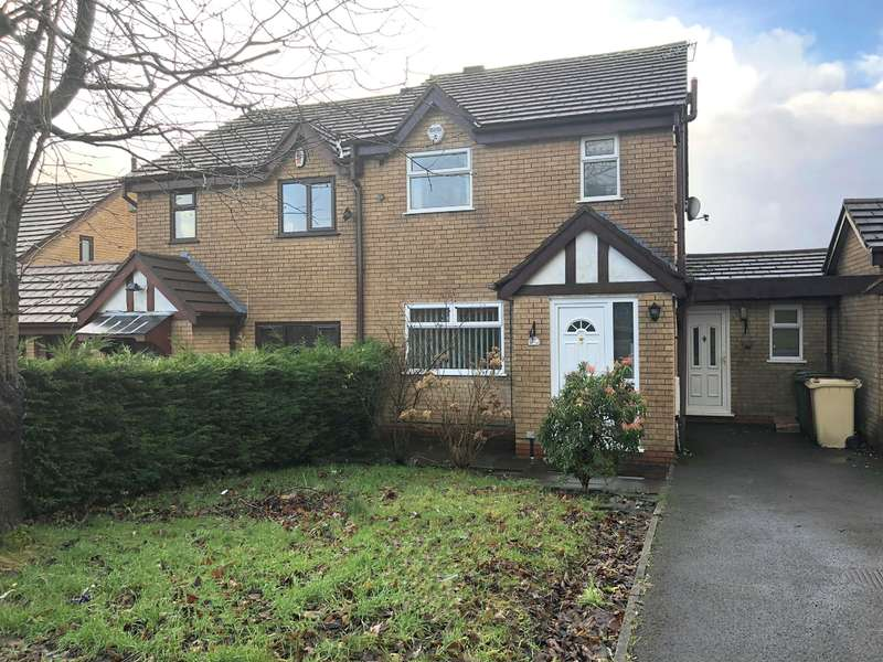 3 Bedrooms Semi Detached House for sale in Rudford Gardens, Great Lever, Bolton, BL3 2UD