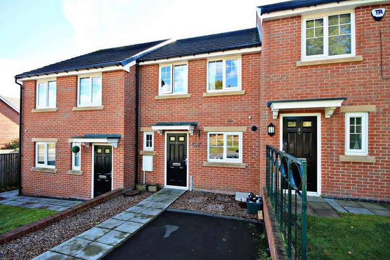 2 Bedrooms Terraced House for sale in Laurel Court, Esh Winning, Durham