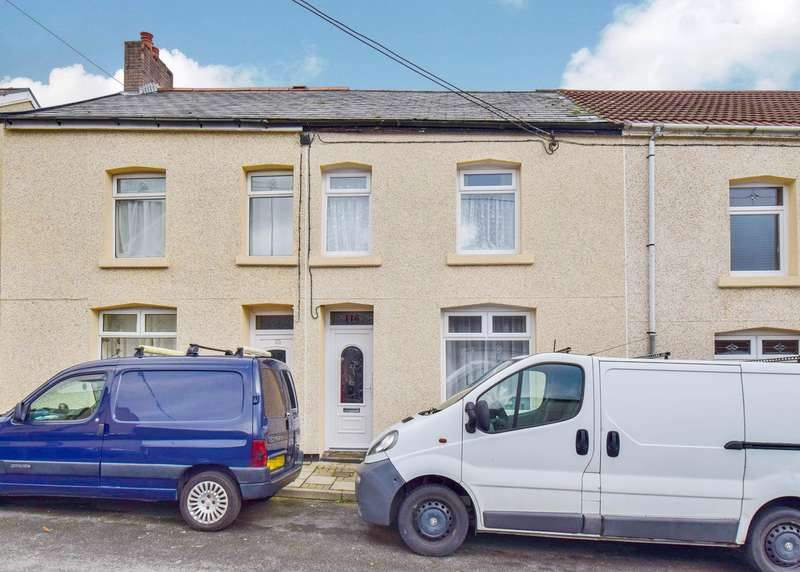 3 Bedrooms Terraced House for sale in Derlwyn Street, Phillipstown, New Tredegar, NP24