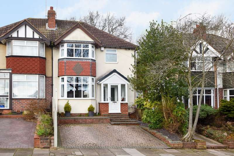 4 Bedrooms Semi Detached House for sale in Josiah Road, Northfield, Birmingham, B31