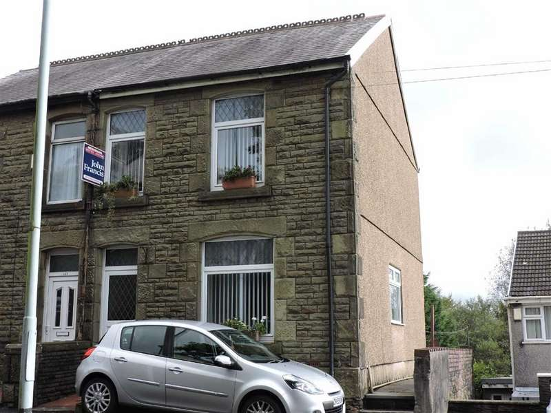 3 Bedrooms Semi Detached House for sale in Llangyfelach Road, Brynhyfryd