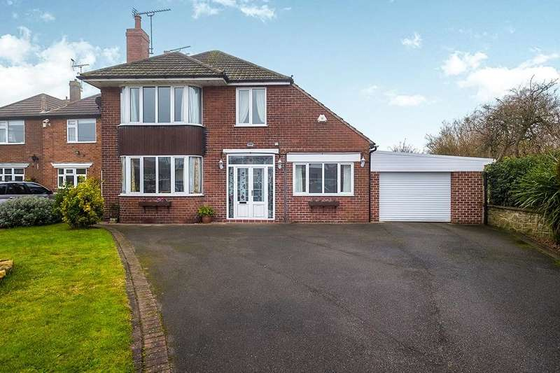 4 Bedrooms Detached House for sale in Swinston Hill Road, Dinnington, Sheffield, S25