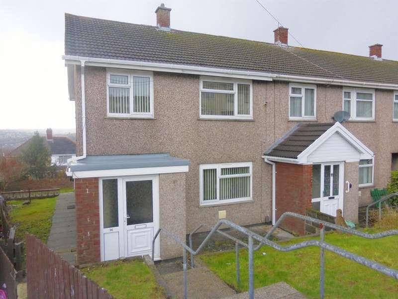 3 Bedrooms End Of Terrace House for sale in Caernarvon Way, Bonymaen, Swansea