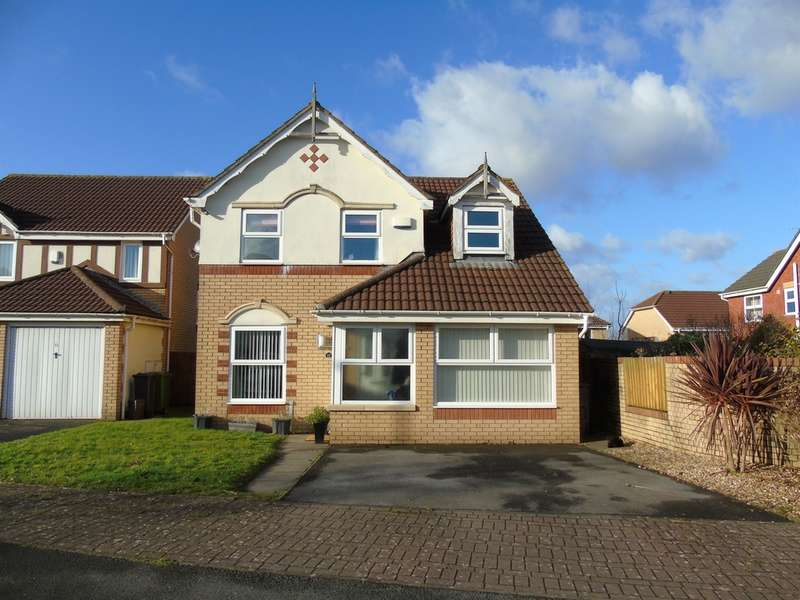 3 Bedrooms Detached House for sale in Crosswells Way, St Fagans, Cardiff