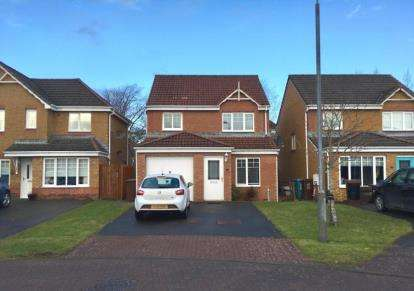 3 Bedrooms Detached House for sale in Borthwick Place, Gartcosh, Glasgow, North Lanarkshire