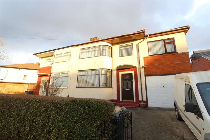 5 Bedrooms Semi Detached House for sale in Olive Grove, Huyton, Liverpool