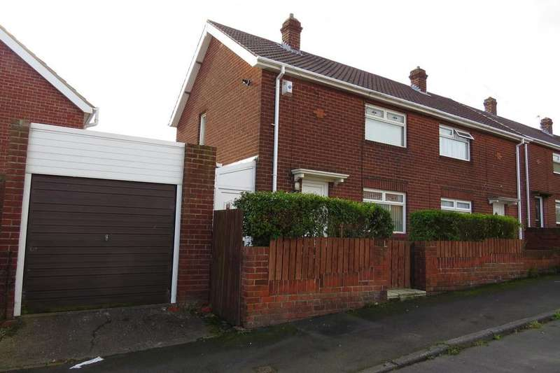 2 Bedrooms Semi Detached House for sale in Woodlea, Newbiggin-By-The-Sea