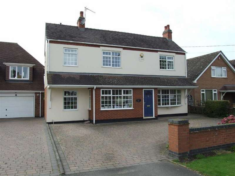 5 Bedrooms Detached House for sale in Shilton Lane, Bulkington, Warwickshire