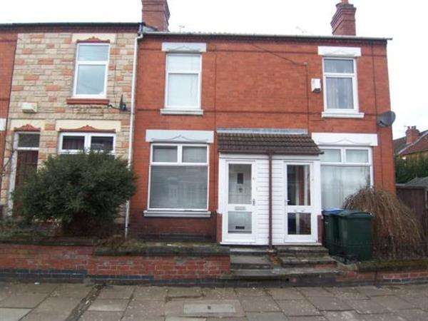 2 Bedrooms Terraced House for sale in Ludlow Road, Earlsdon, Coventry
