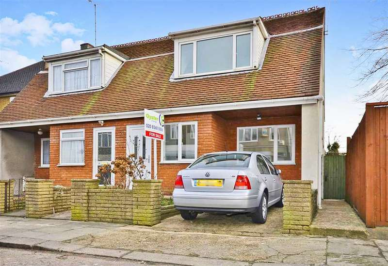 2 Bedrooms Semi Detached House for sale in Brunswick Avenue, New Southgate, N11