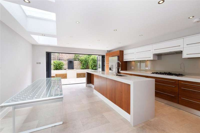 6 Bedrooms Terraced House for sale in Warriner Gardens, Battersea, London, SW11