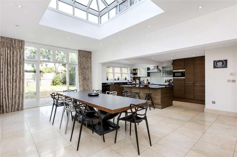 5 Bedrooms End Of Terrace House for rent in Cleveland Road, Barnes, London, SW13