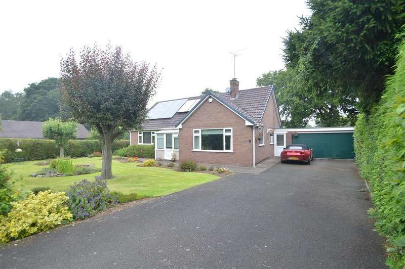 3 Bedrooms Detached Bungalow for sale in 9 Old Coppice, Lyth Hill, Lyth Bank, Shrewsbury SY3 0BP