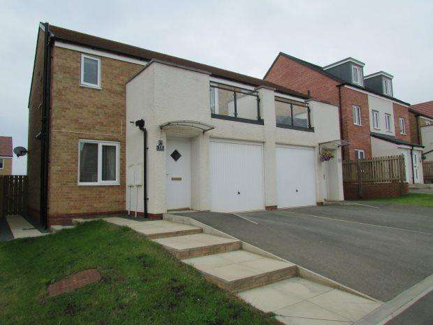 3 Bedrooms Semi Detached House for sale in CELANDINE GARDENS, BISHOP CUTHBERT, HARTLEPOOL