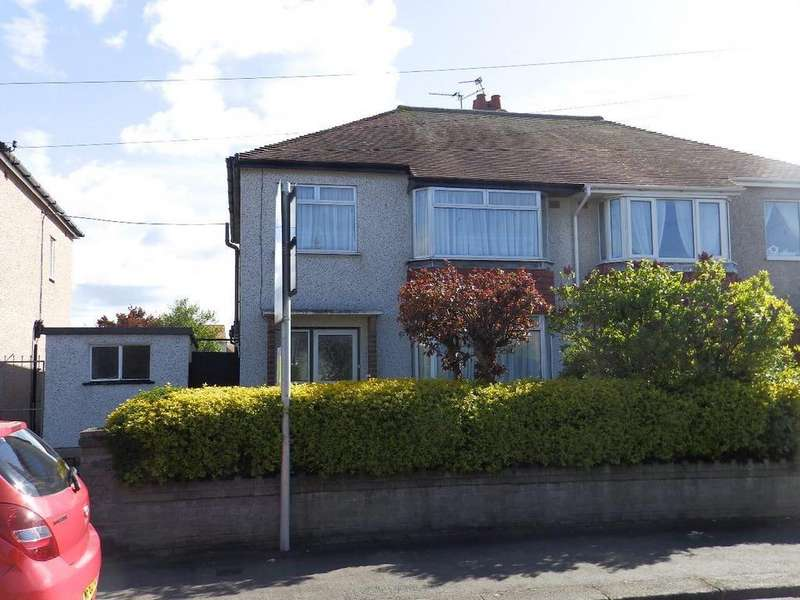 3 Bedrooms Semi Detached House for sale in Trellewelyn Road, Rhyl