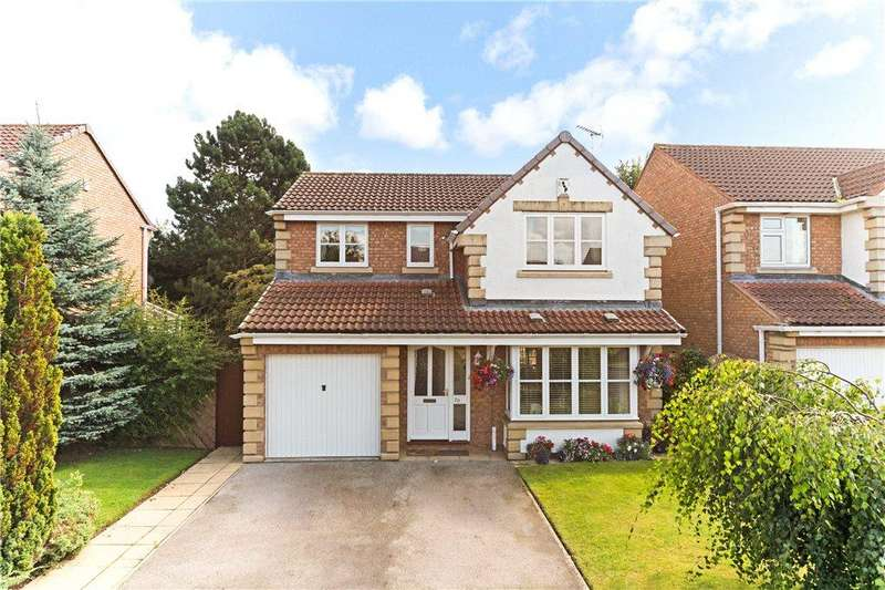 4 Bedrooms Detached House for sale in Hell Wath Grove, Ripon, North Yorkshire