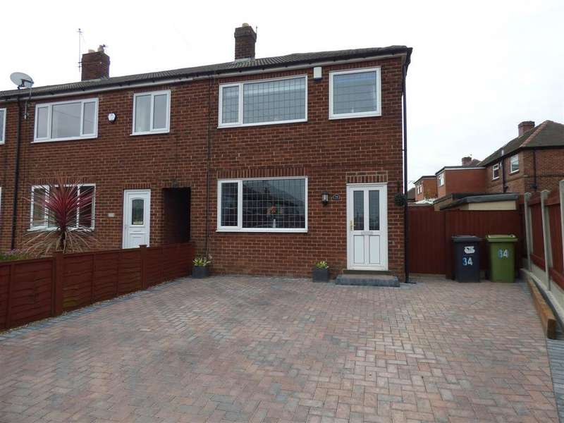 3 Bedrooms End Of Terrace House for sale in Houldsworth Avenue, White Lee, Heckmondwike