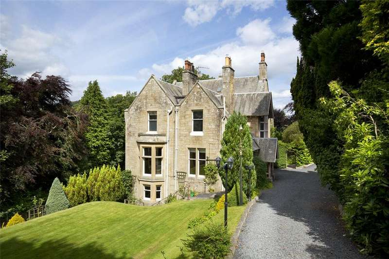 6 Bedrooms Detached House for sale in Parkview House, Buccleuch Road, Hawick, Roxburghshire, TD9