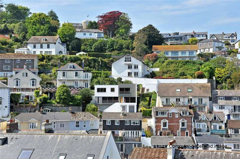 4 Bedrooms Detached House for sale in Northford Road, Dartmouth, Devon, TQ6