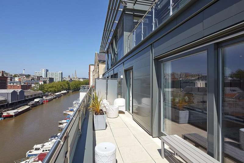 3 Bedrooms Penthouse Flat for sale in Apartment 45, Huller Cheese, Redcliff Backs, Bristol, BS1