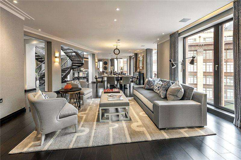 3 Bedrooms Penthouse Flat for rent in The Lansbury, 19 Basil Street, Knightsbridge, London, SW3