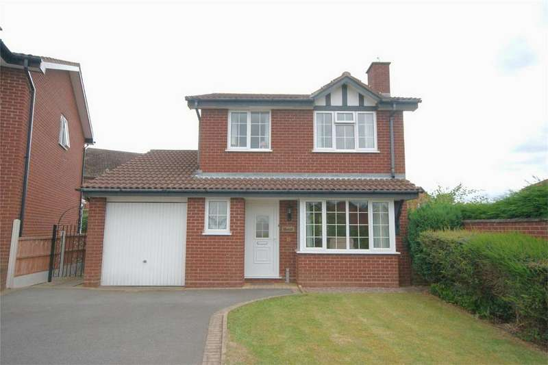 3 Bedrooms Detached House for sale in Yates Croft, Four Oaks, SUTTON COLDFIELD, West Midlands