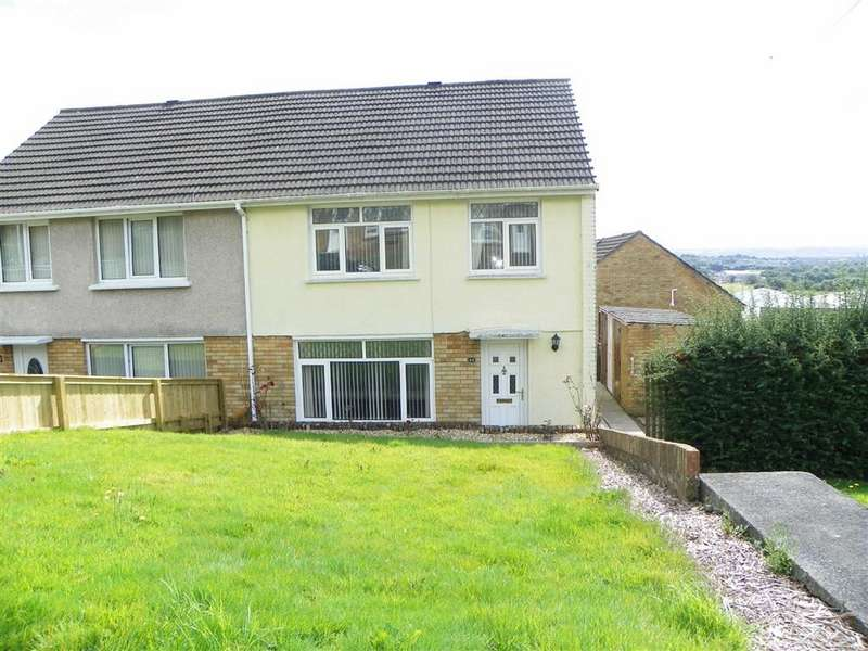 3 Bedrooms Semi Detached House for sale in Llanddyri, Swiss Valley, Llanelli