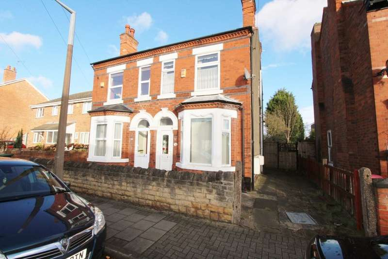 3 Bedrooms Semi Detached House for sale in Marlborough Road, Beeston, Nottingham, NG9