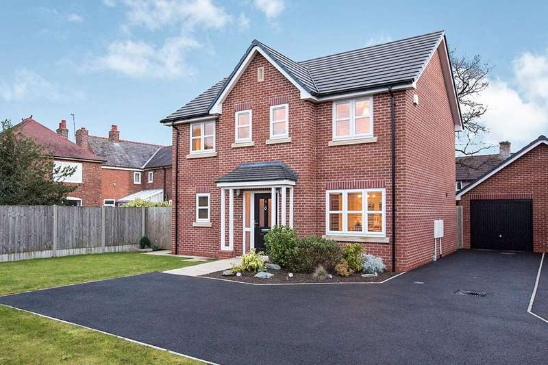 4 Bedrooms Detached House for sale in Shipbrook Road, Rudheath, Northwich, CW9