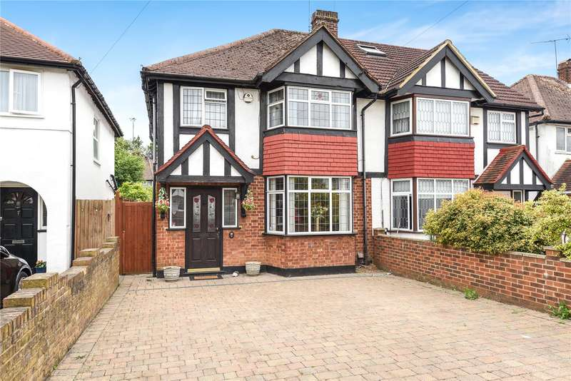 3 Bedrooms Semi Detached House for sale in Lawn Close, Ruislip, Middlesex, HA4