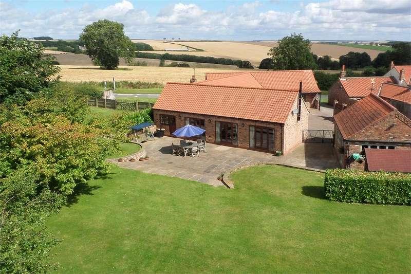4 Bedrooms Barn Conversion Character Property for sale in Farrow Barn, Pocklington Lane, Huggate, York