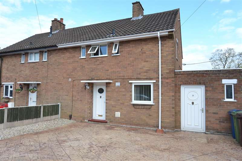 2 Bedrooms Terraced House for sale in Steadman Crescent, Stafford