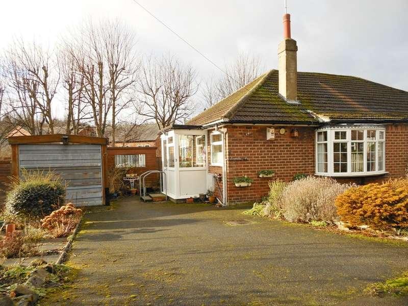 2 Bedrooms Semi Detached Bungalow for sale in Cross Bentley Lane, Meanwood