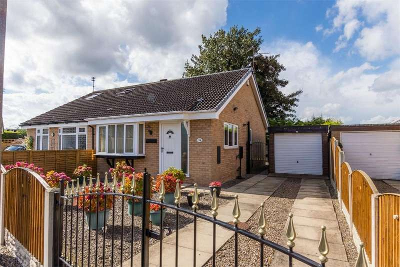 2 Bedrooms Semi Detached Bungalow for sale in Beaverdyke, Clifton, YORK