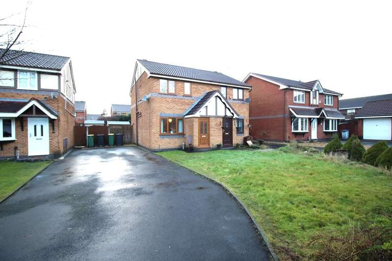 2 Bedrooms Semi Detached House for sale in Dovedale Close, Ingol, Preston, PR2