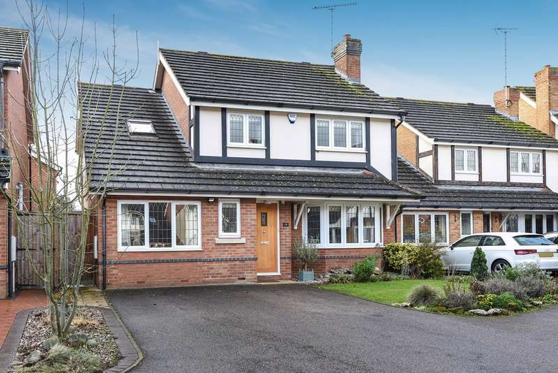 4 Bedrooms Detached House for sale in Sycamore Close, St Ippolyts, Hitchin, SG4