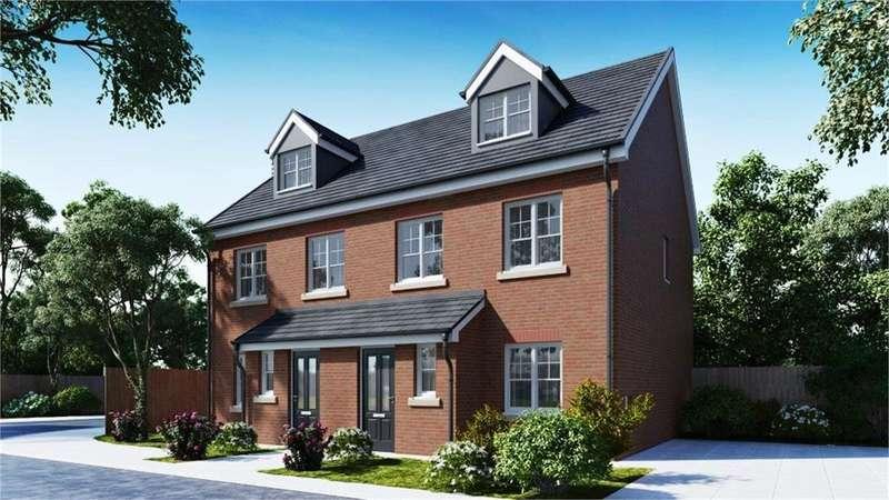 4 Bedrooms Semi Detached House for sale in Vicarage Gardens, Platt Bridge, Wigan, WN2