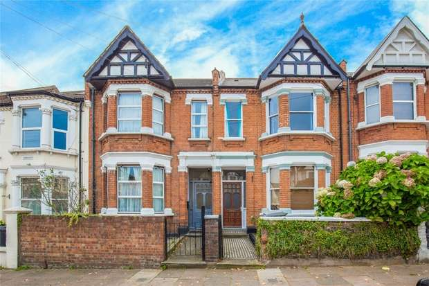 4 Bedrooms Terraced House for sale in Leghorn Road, Kensal Green, London