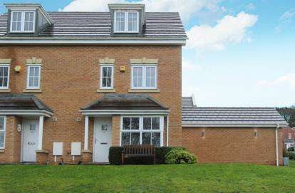 4 Bedrooms Semi Detached House for sale in Windmill Way, Brimington, Chesterfield, Derbyshire